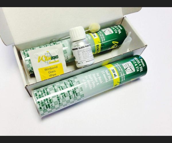 Professional Windscreen Double Glue kit