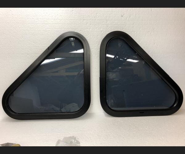 Blindspot security framed windows