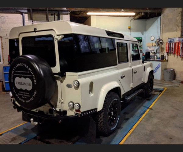 Defender dark limo tint 110 Panoramic Glass Kits