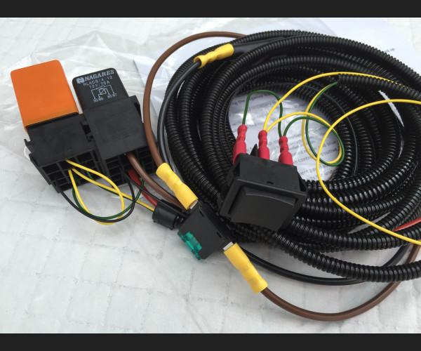 Defender 90  Heated Wiring Loom 1983-2002