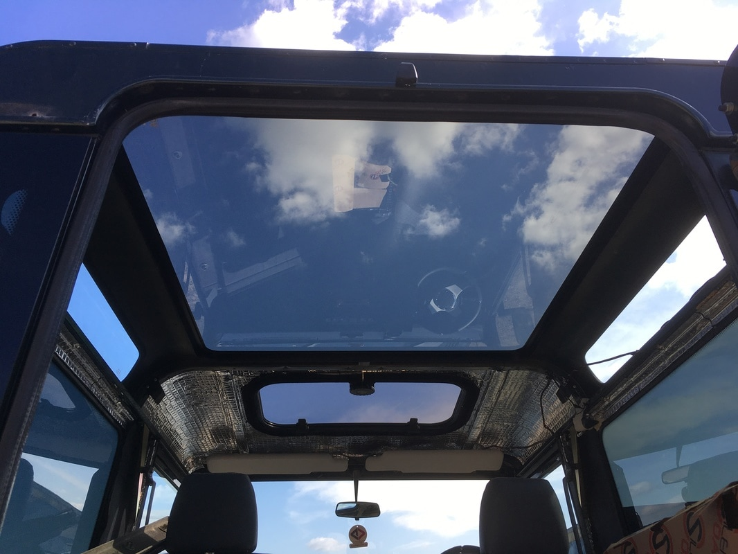 Vgs Vehicle Glazing The Original Landyglass Land Rover